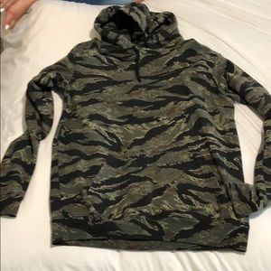 Camo all saints hoodie